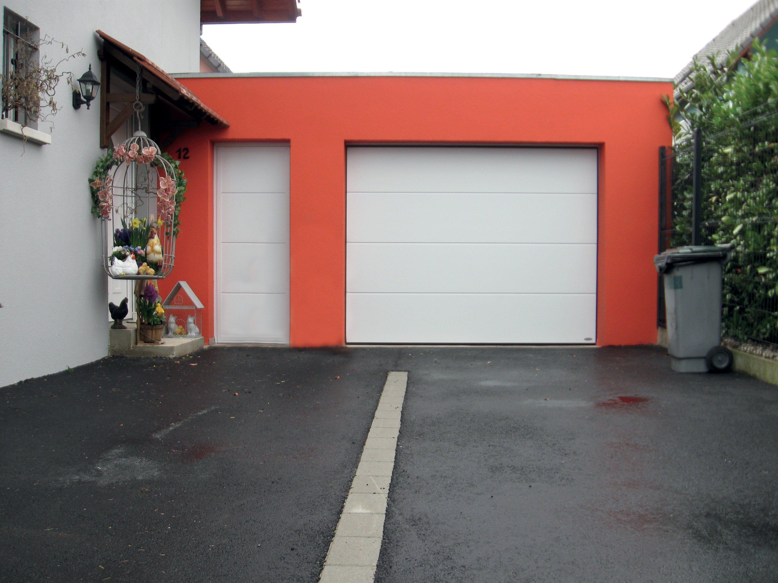Porte de garage sectionnelle en aluminium ulsas dans le 67 et 68 - Porte sectionnelle aluminium ...