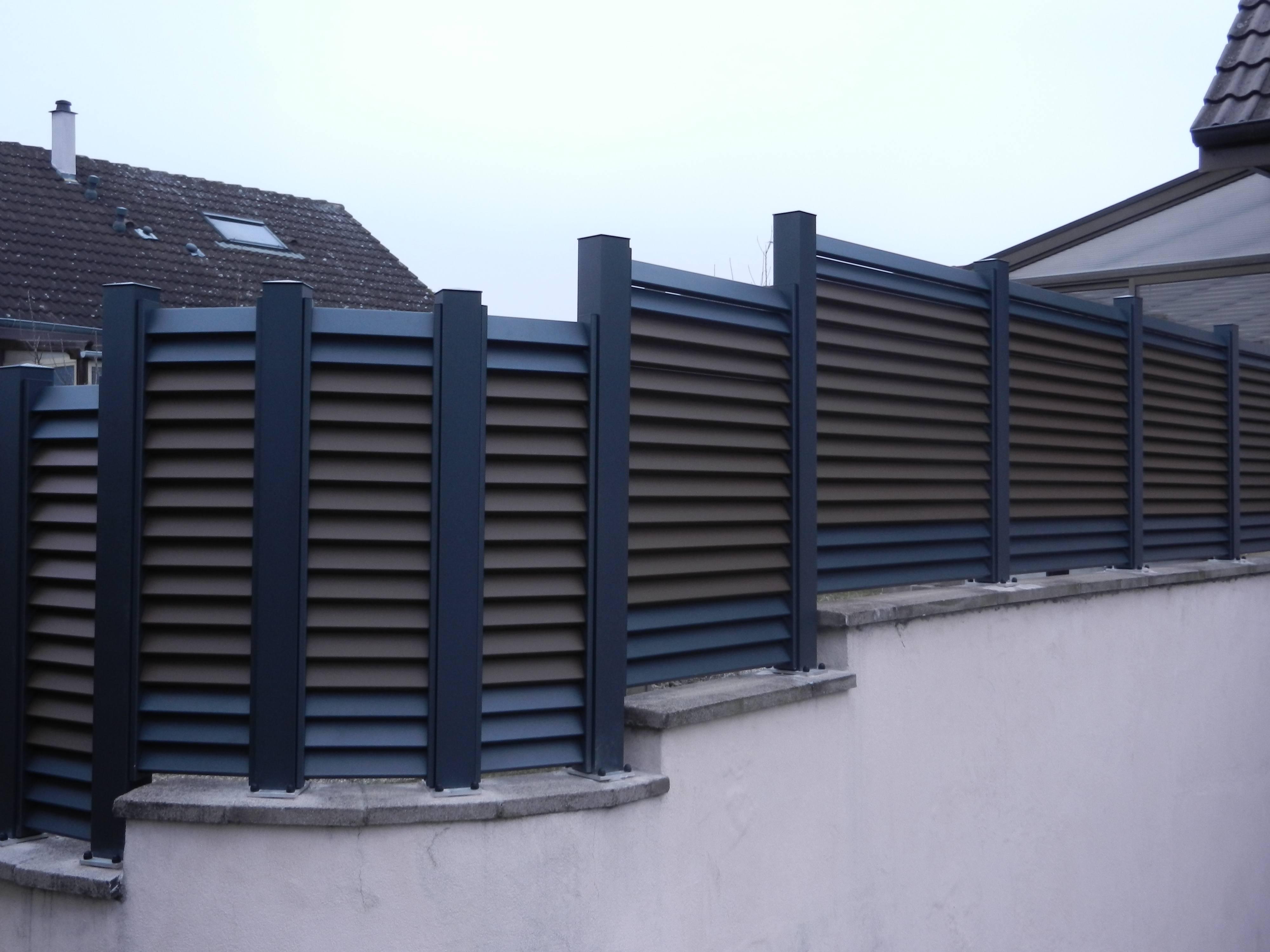 clôture pleine