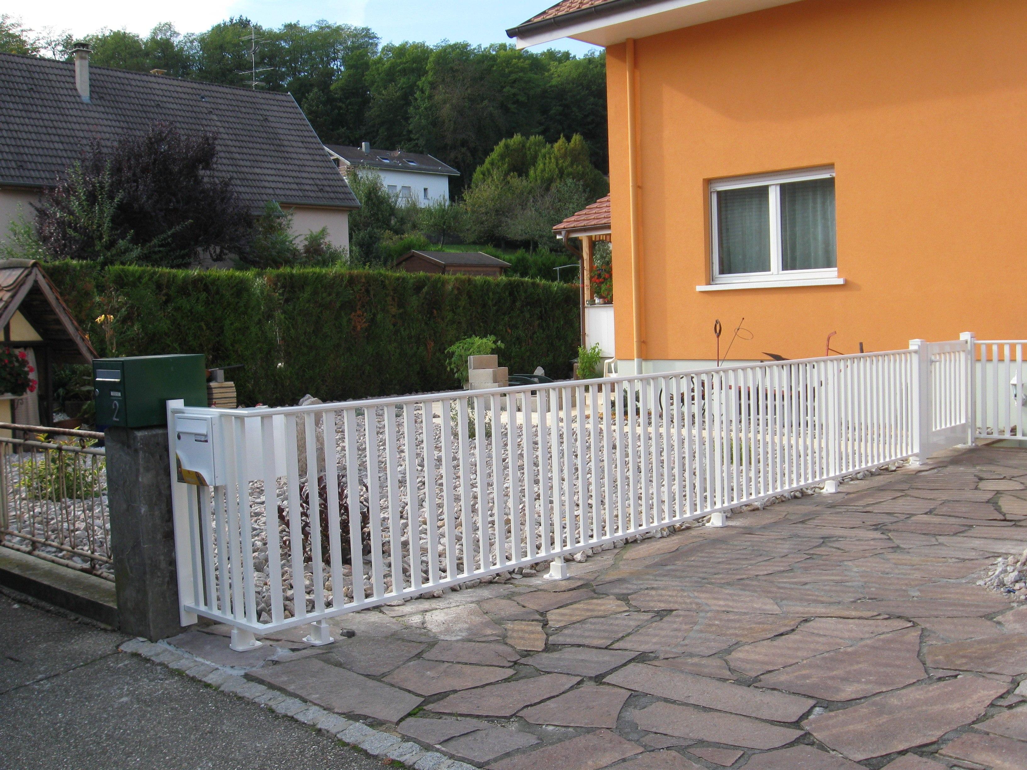 clôture alsace
