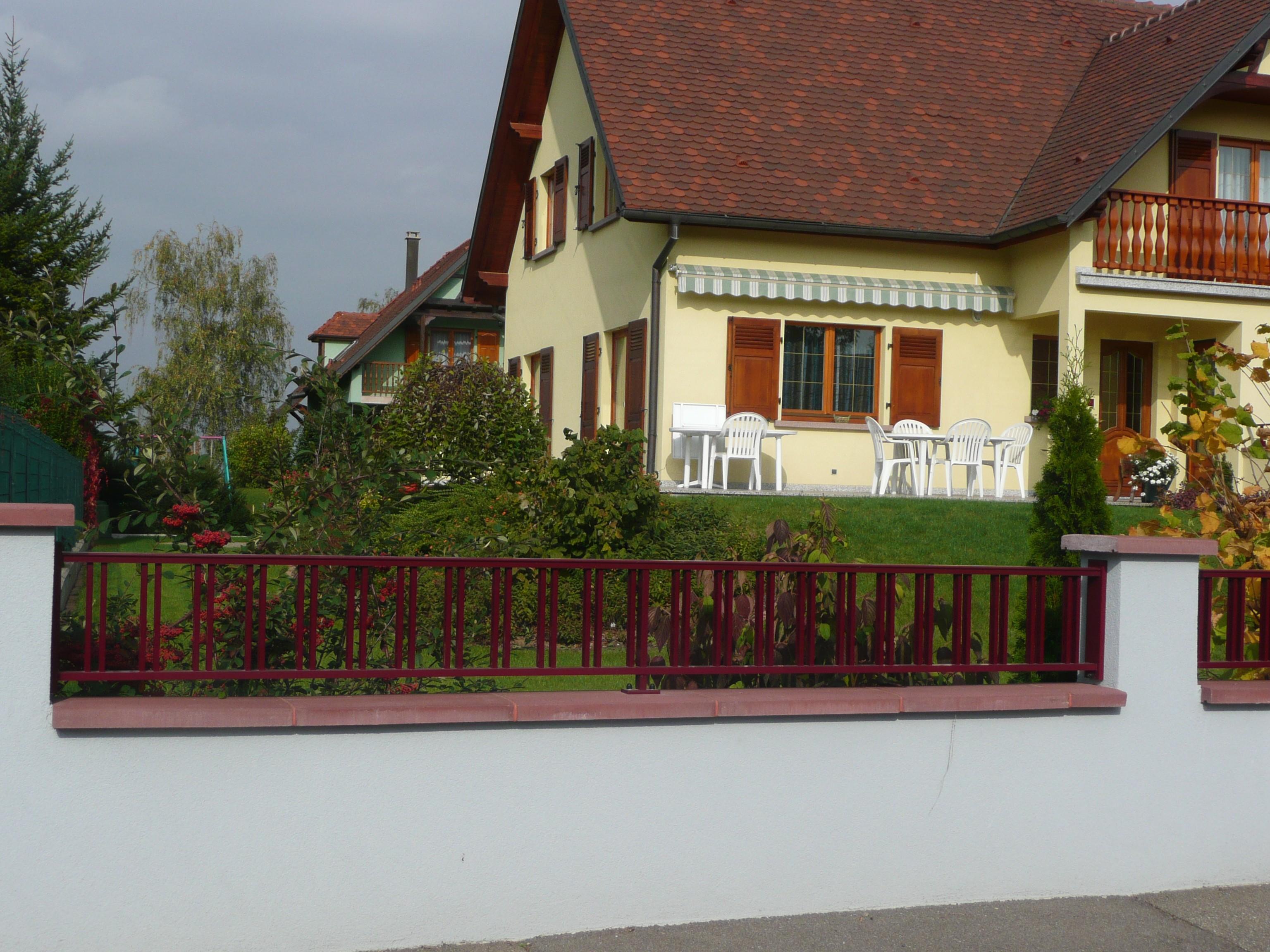 clôture lorraine
