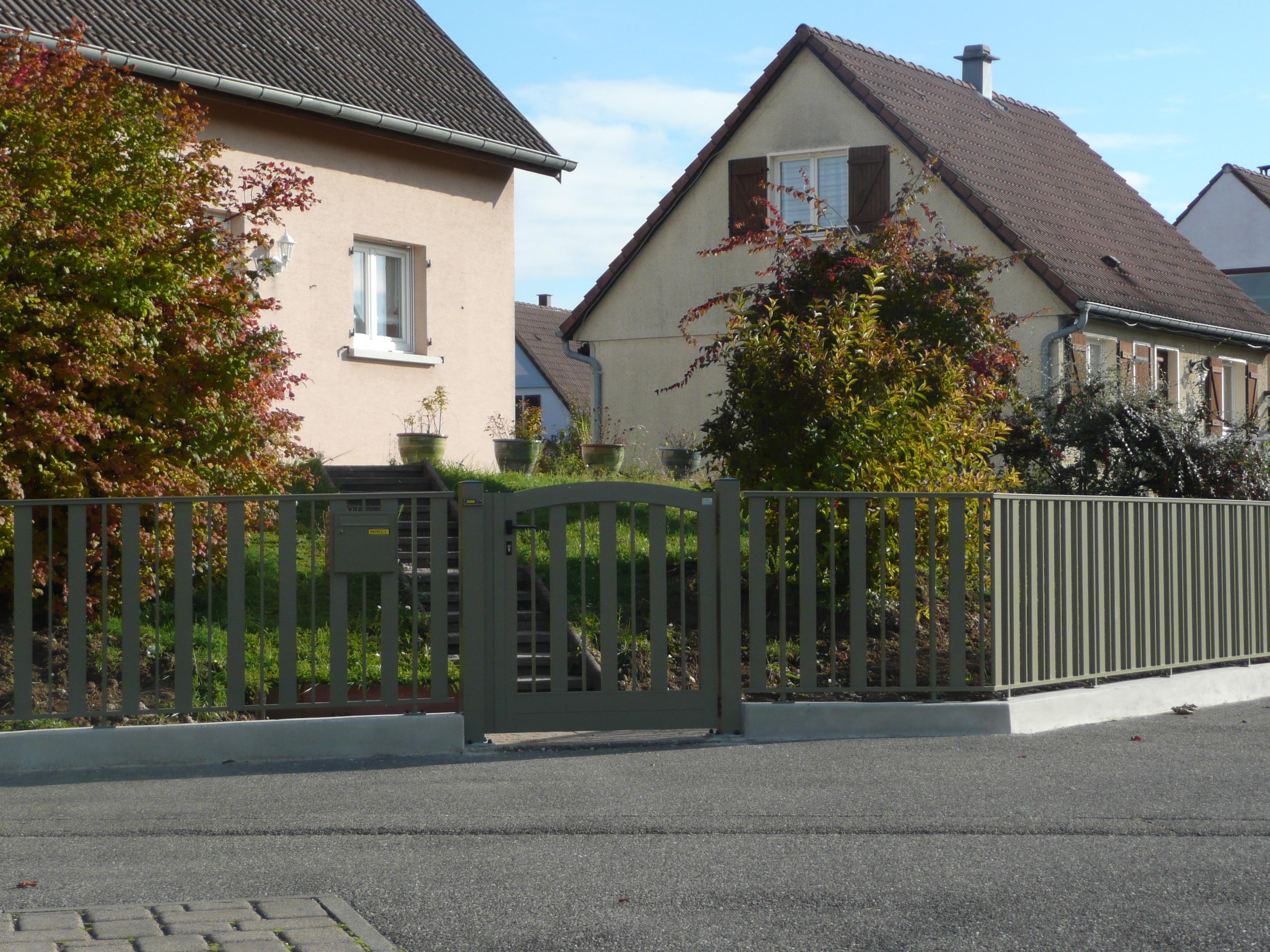 clôture alternance